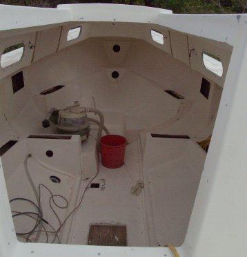 Restoration Progress Interior